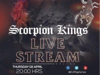 Kabza De Small & DJ Maphorisa APRIL 2020 – Scorpion Kings Live Stream Mix 2
