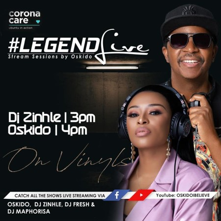 DJ Zinhle – Legend Live Mix mp3 download