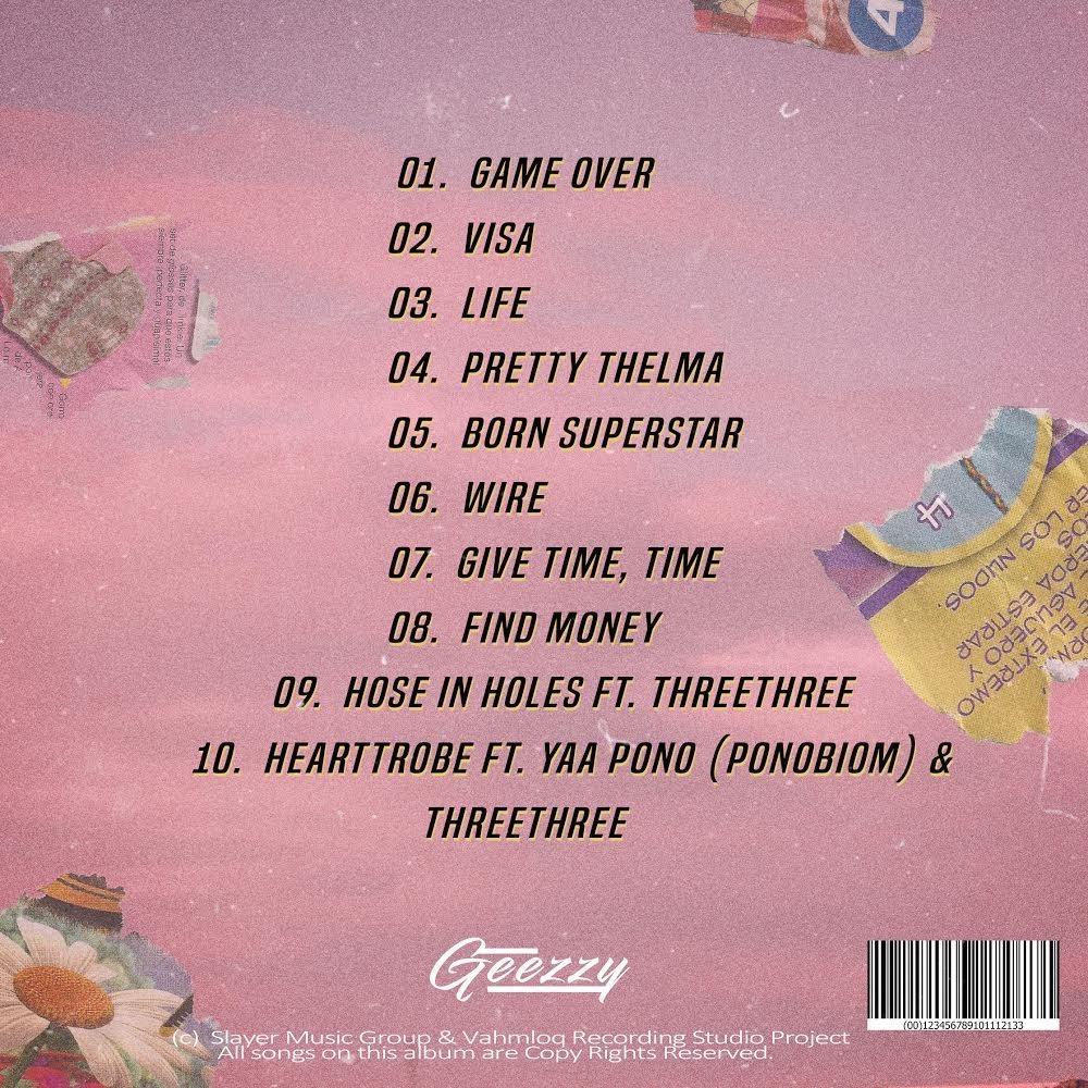 Geezzy – HeartTrobe Ft. Yaa Pono, ThreeThree mp3 download