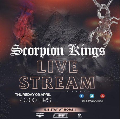 Kabza De Small & DJ Maphorisa APRIL 2020 – Scorpion Kings Live Stream Mix 2 mp3 download