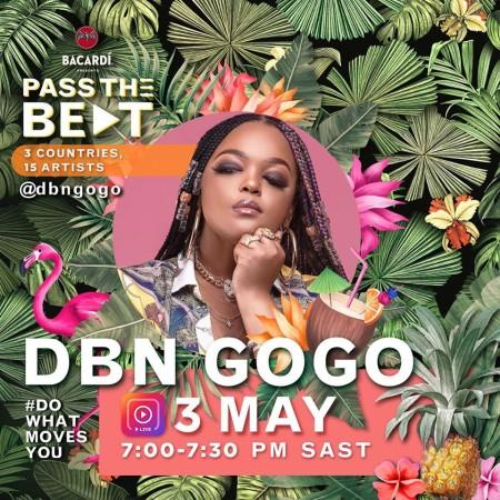 DBN Gogo – Bacardi Amapiano Live Mix mp3 download