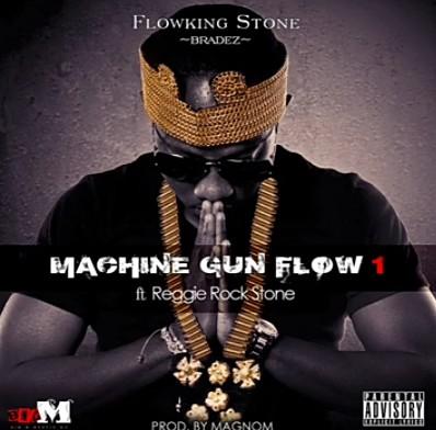 Flowking Stone – Machine Gun Flow Ft. Reggie Rockstone mp3 download