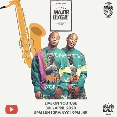 Major League – Amapiano Live Balcony Mix 13 mp3 download