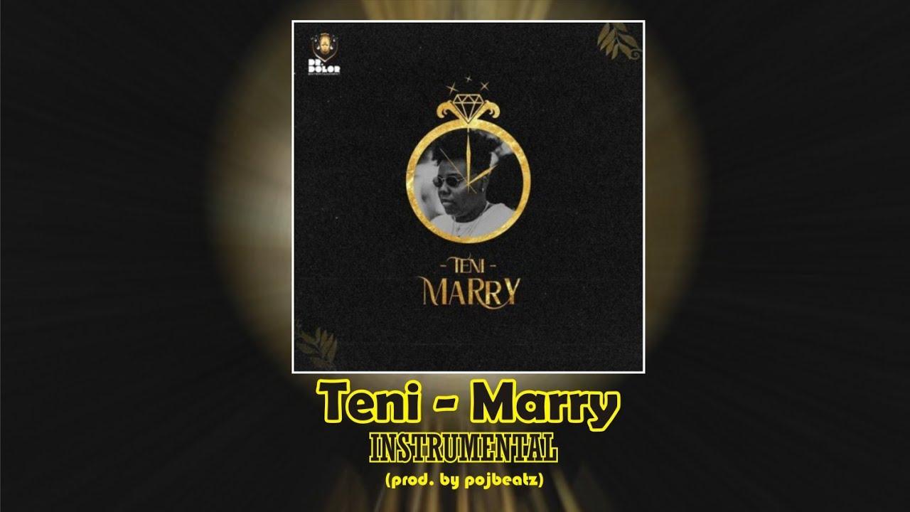 Teni – Marry (Instrumental) mp3 download