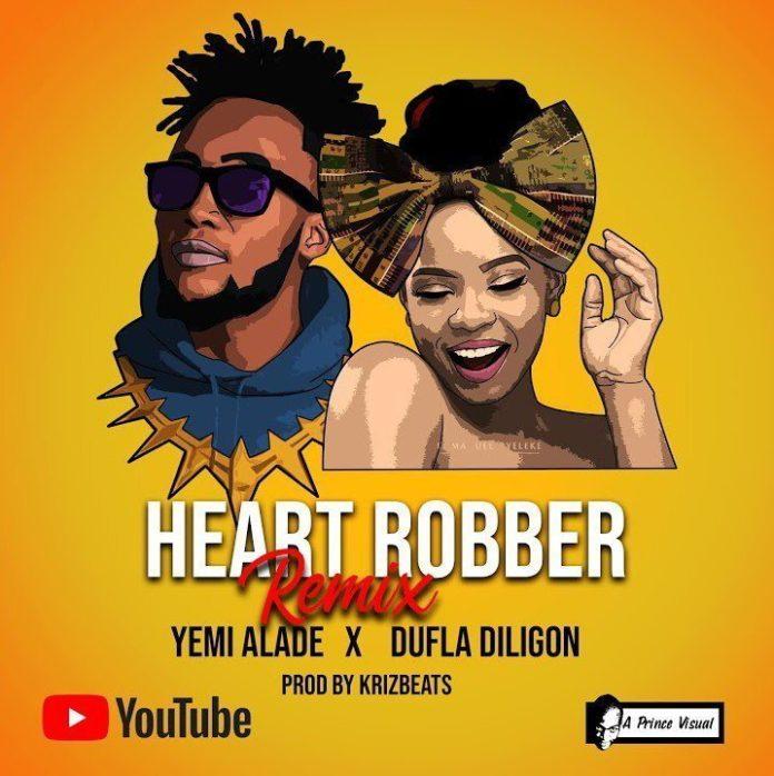 Yemi Alade Ft. Dufla Diligon – Heart Robber (Remix) mp3 download