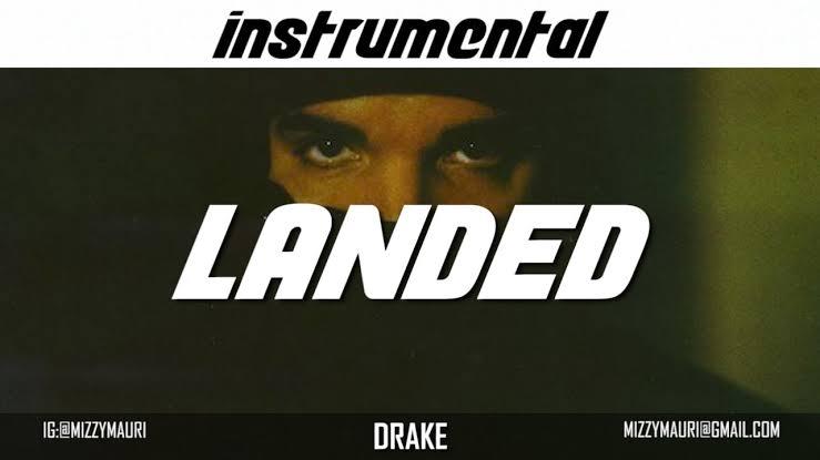 Drake - Landed (Instrumental)