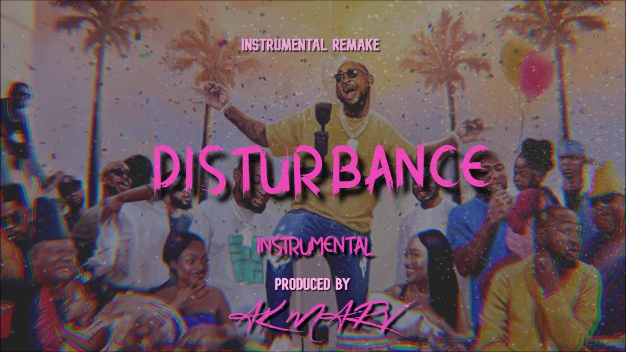 Davido Ft. Peruzzi – Disturbance (Instrumental) download