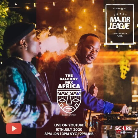 Major League – Amapiano Live Balcony Mix 23 mp3 download