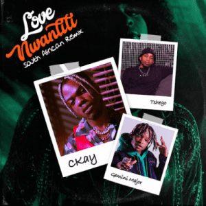 CKay – Love Nwantiti Ft. Gemini Major, Tshego (South African Remix) mp3 download