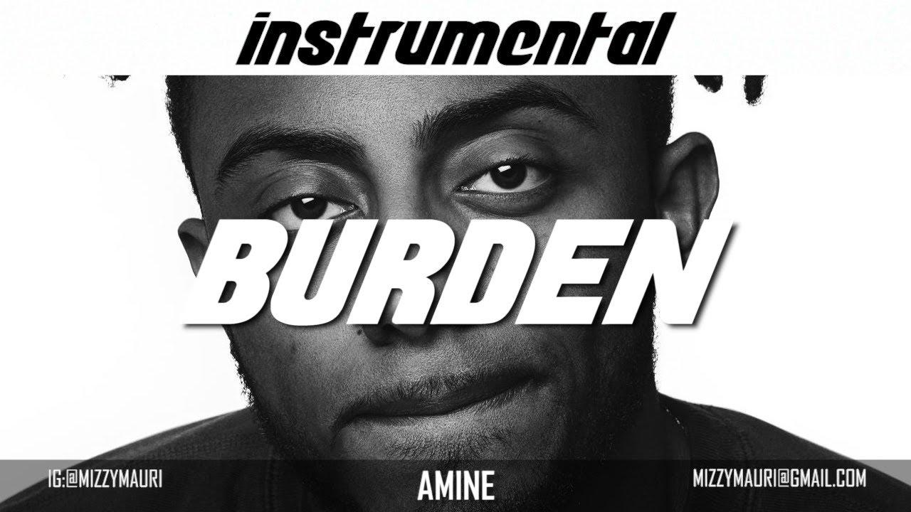 Amine – Burden (Instrumental) mp3 download