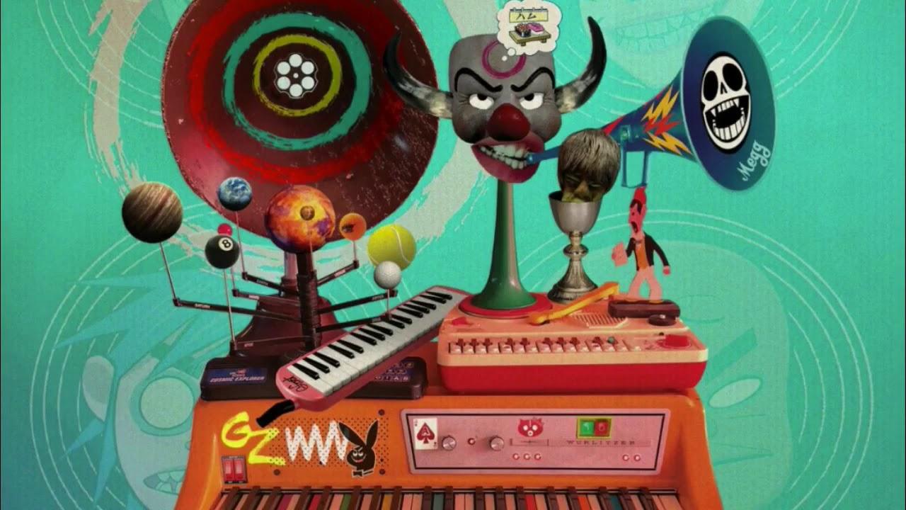 Gorillaz Ft. ScHoolboy Q – PAC-MAN (Instrumental) download