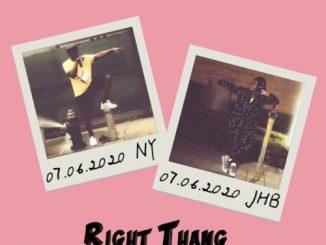 Shizaree - Right Thang Ft. Busiswa Mp3 Audio Download