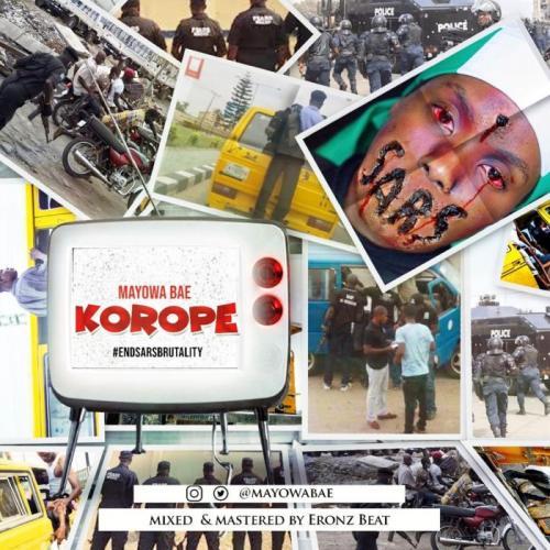Mayowa Bae – Korope (End Sars Brutality) mp3 download