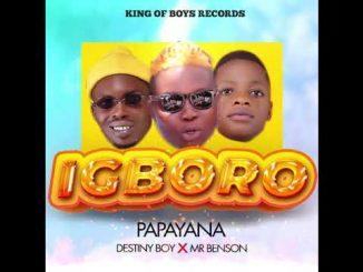 Papayana - Igboro Ft. Destiny Boy, Mr Benson