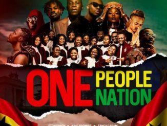 Stonebwoy - One People, One Nation Ft. King Promise, Efya, Darkovibes, Fancy Gadam, Fameye, Maccasio, Teephlow, Bethel Revival Choir