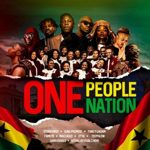 Stonebwoy – One People, One Nation Ft. King Promise, Efya, Darkovibes, Fancy Gadam, Fameye, Maccasio mp3 download