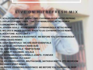 Chymamusique - Live On Hitrefresh Mix Mixtape Mp3 Audio
