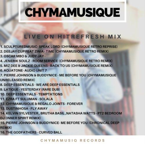 Chymamusique – Live On Hitrefresh mp3 download