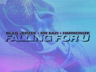 Blaq Jerzee Ft. Mr Eazi, Harmonize - Falling For U (Audio/Video)