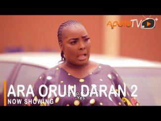 Ara Orun Daran 2 Latest Yoruba Movie 2021 Drama