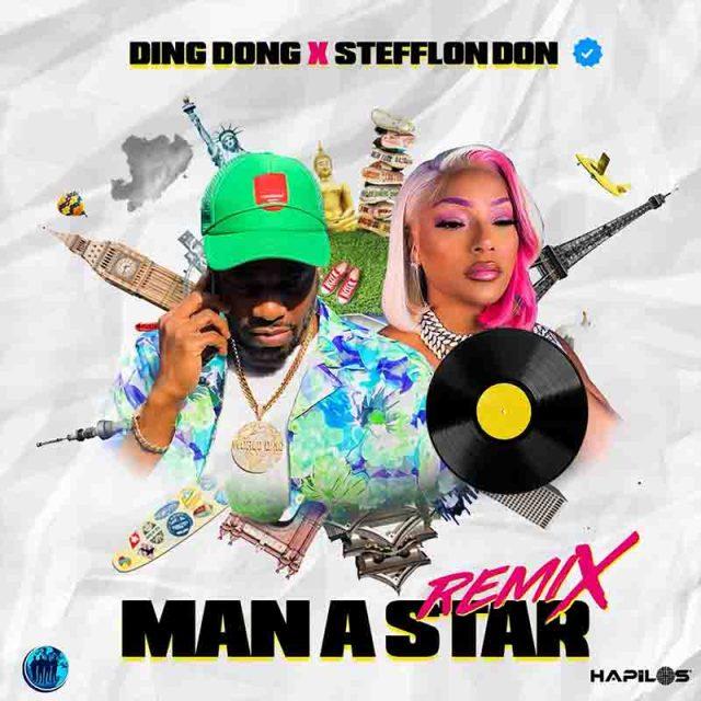 Ding Dong – Man a Star (Remix) Ft. Stefflon Don mp3 download