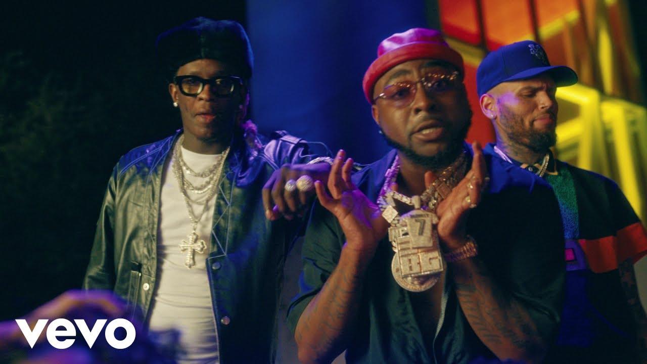 Davido Ft. Chris Brown, Young Thug – Shopping Spree mp3 download