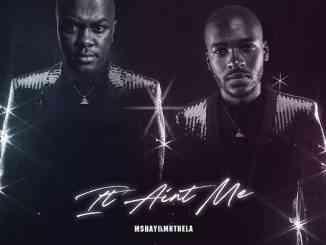 Mshayi Ft. Mr Thela – It Ain't Me (Bootleg)